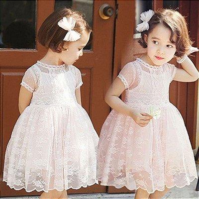 Vestido de Renda - 2 cores