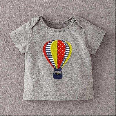 Camiseta Cinza Balão