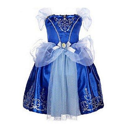 Vestido Azul Princesa
