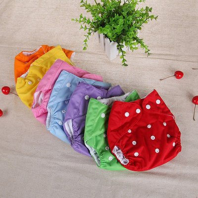 Fralda de Tecido Reutilizável - 7 cores