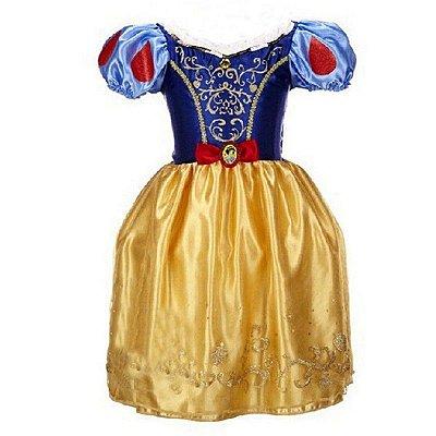 Vestido Amarelo Princesa