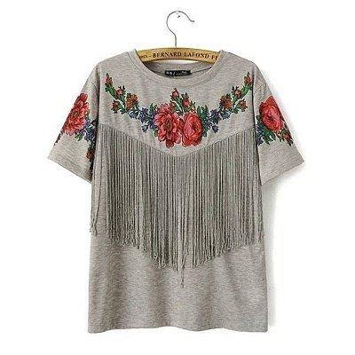 T-shirt de Franjas