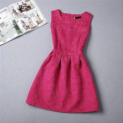 Vestido Jacquard - 5 cores