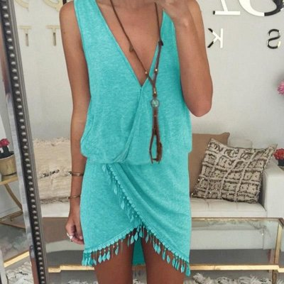 Vestido Transpassado - 4 cores