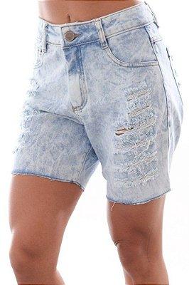 Bermuda Jeans Detonada