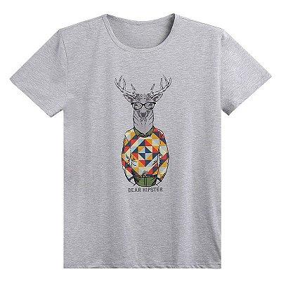 Camiseta Hipster Masculina - 3 cores