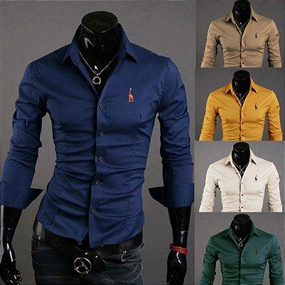 Camisa Lisa - 5 cores