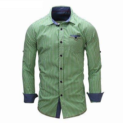 Camisa Quadriculada - 3 cores