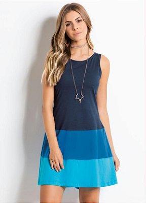 Vestido com Recortes - 2 cores