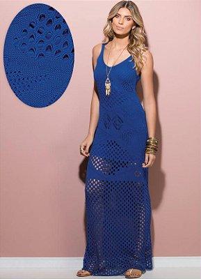 Vestido Longo Tricô - 3 cores