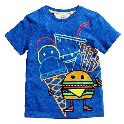 Camiseta Fast Food