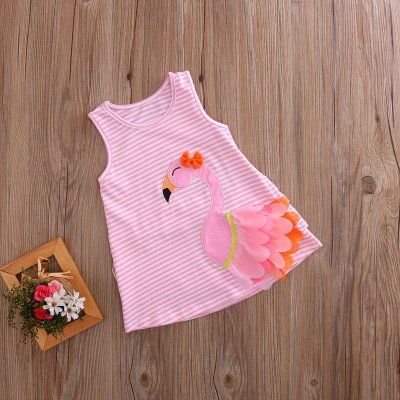 Vestido Flamingo Listrado