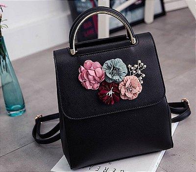 Mochila Flores - 4 cores