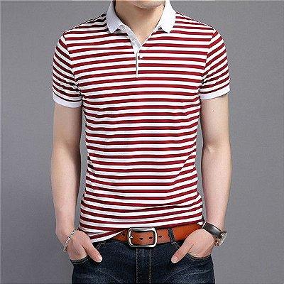 Camiseta Polo Striped - 2 cores