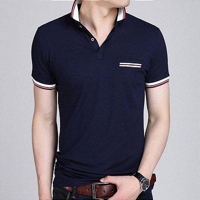 Camiseta Polo Discreta - 2 cores