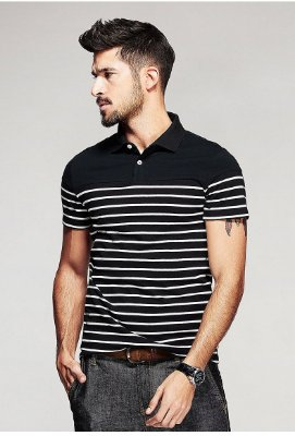 Camiseta Polo Casual - 2 cores