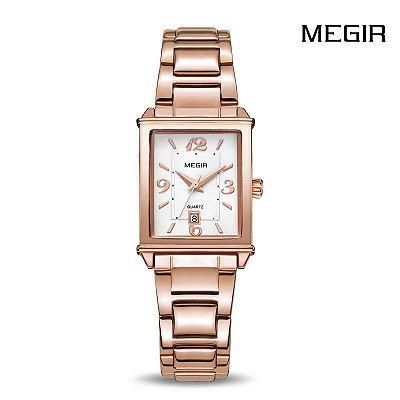 Relógio Square MEGIR - 2 cores