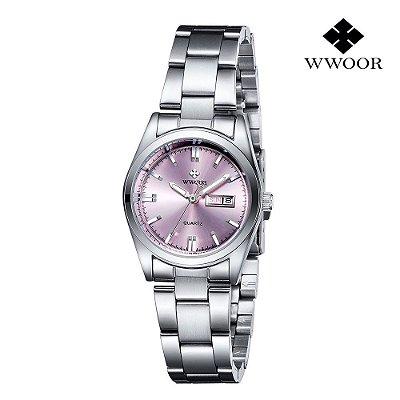 Relógio Genebra WWOOR - 3 cores