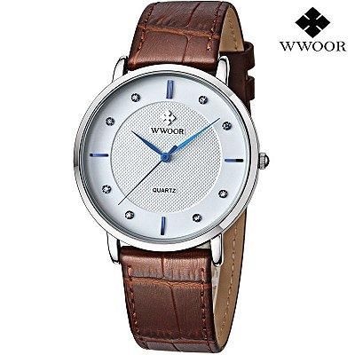 Relógio Slim WWOOR  - 4 cores
