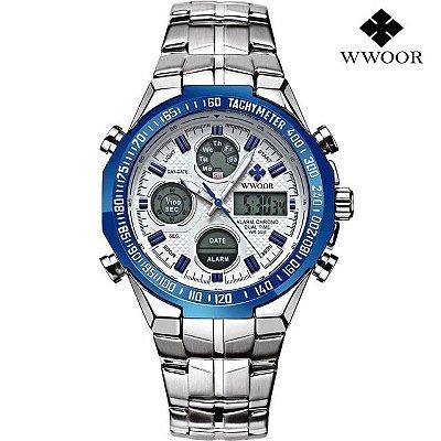 Relógio Multifuncional WWOOR - 3 cores