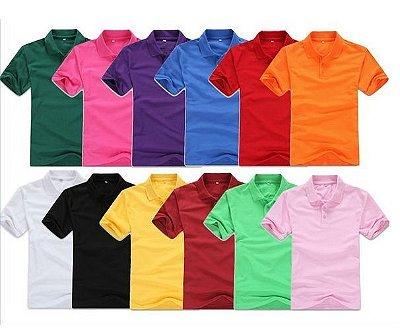 Polo Básica - Masculina - 11 cores