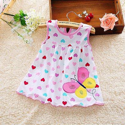 Vestido Cute - 8 cores