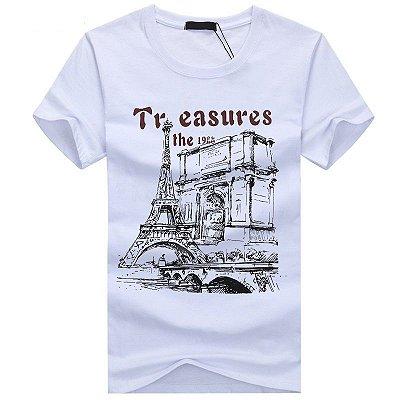 Camiseta Treasures - 5 cores