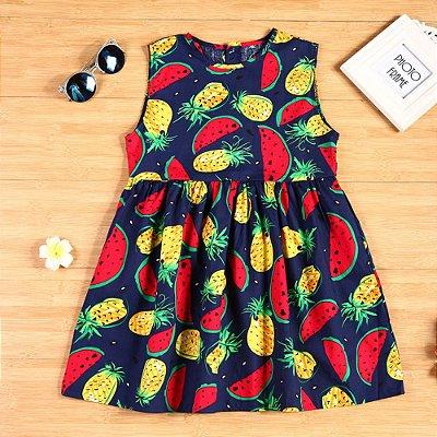 Vestido Fruit - 2 cores