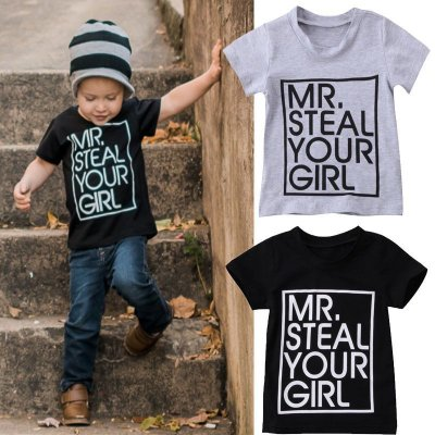 T-shirt Steal Your Girl - 2 cores