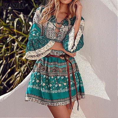 Vestido Pérsia - 2 cores