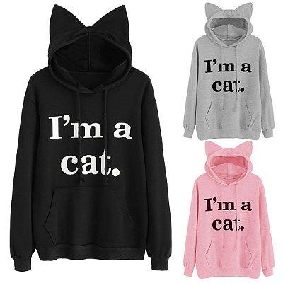 Moletom Cat - 3 cores