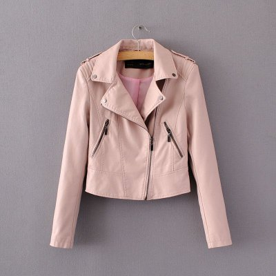Jaqueta de Couro Clássica - 2 cores