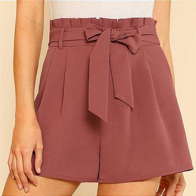 Short Laço Blush