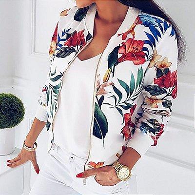 Jaqueta Floral - 2 cores