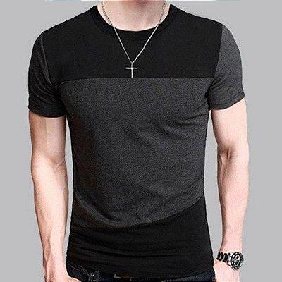 Camiseta Recortes - 2 cores