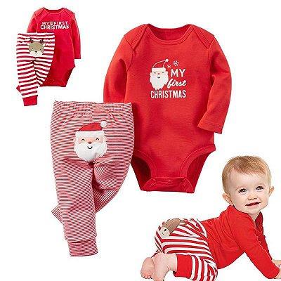 Conjunto Baby Christmas - 2 modelos