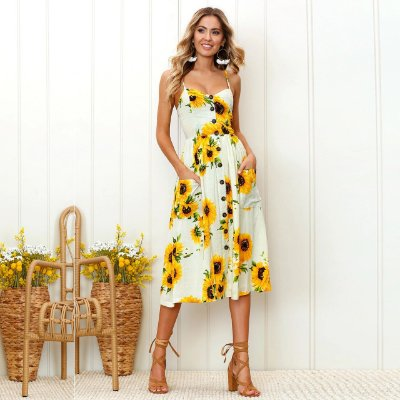 Vestido Girassol - 3 cores