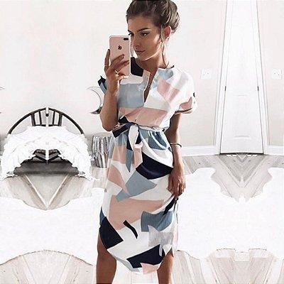 Vestido Geometric - 2 cores
