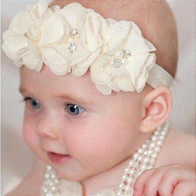 Elástico Baby Flor - 5 cores