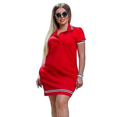 Vestido Polo Plus Size - 2 cores