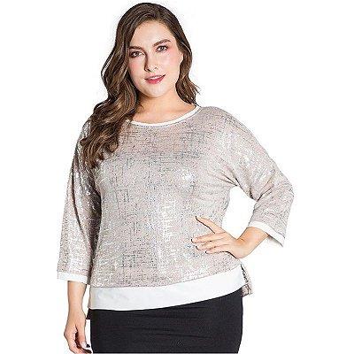 Blusa Chic Plus Size