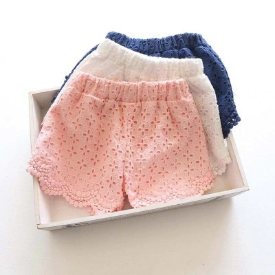 Short de Renda - 3 cores