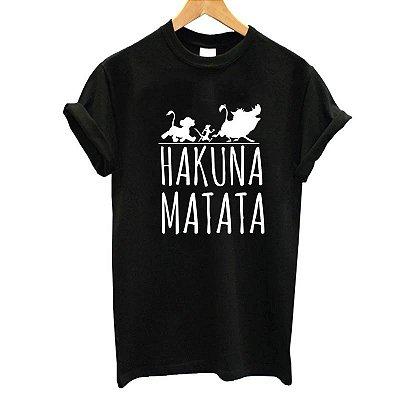 T-shirt Hakuna Matata - 2 cores