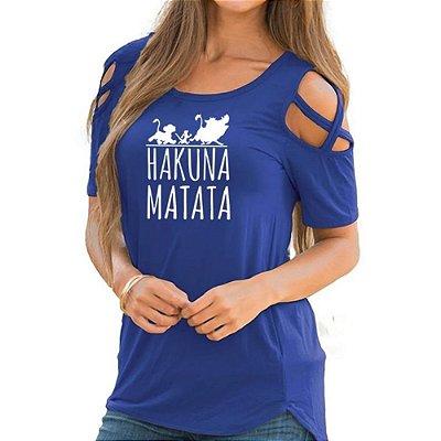 Blusa Hakuna Matata - 3 cores