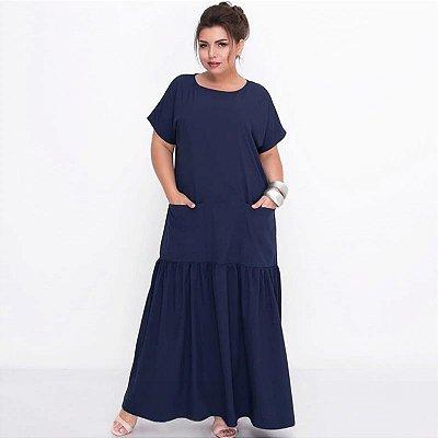 Vestido Loose Plus Size - 2 cores