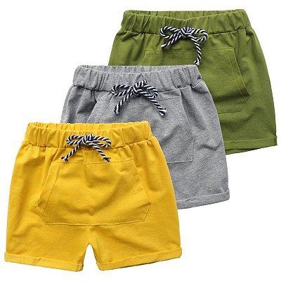 Short Cordão - 3 cores