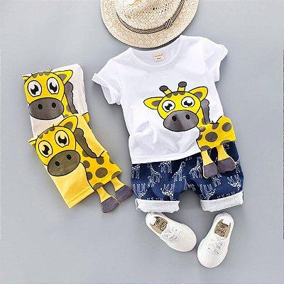 Conjunto Girafa - 3 cores