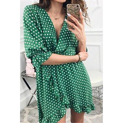Vestido Bolinhas - 4 cores