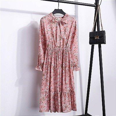 Vestido Retrô - 3 cores