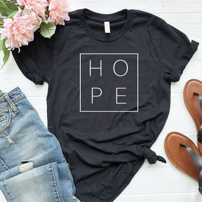 T-shirt Hope - 5 cores